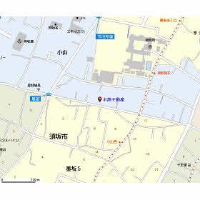 本社所在地図