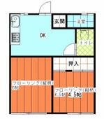 高島駅 22分 1階 2K
