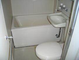 バス・トイレ・洗面セット。