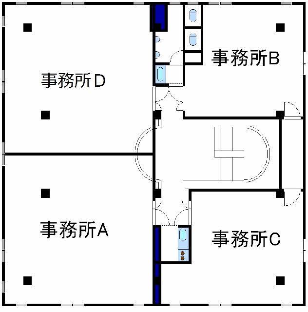 【ハトマークサイト】北鉄バス「 6分 の貸店舗・事務所の貸 ...
