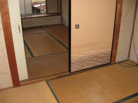 2階和室2室です