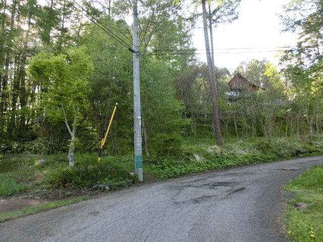 敷地南側 道路からの写真