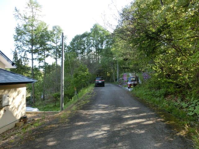 敷地北側の道路