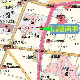 須坂ハイランドプラザ1階です。