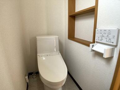 2階トイレ新品