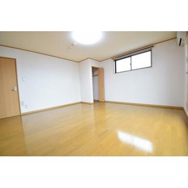 各居室8帖以上の広々空間