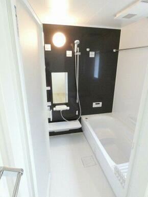 一日の疲れを癒す浴室、ゆとりの一坪