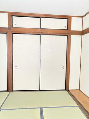 1階和室の収納です。