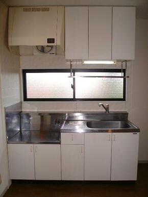 収納や調理スペースにもゆとりがあります♪