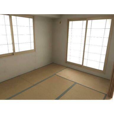 約5.5畳の和室です。