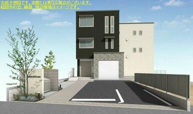 積水ハウス施工★重量鉄骨造3階建てマンションの「シャーメゾン」です★※イメージ図です。