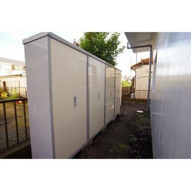 各部屋専用トランクルーム完備!