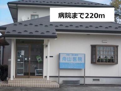 舟山医院まで220m