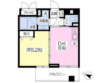 2人入居も可能な1DKタイプのお部屋です!