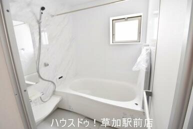 浴室乾燥機付きのお風呂は雨の日のお洗濯にも大活躍!