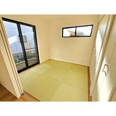 和室 日焼けや色あせしにくく、美しさ長持ちの畳おもて。