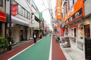 下高井戸駅の商店街です☆最寄駅の下高井戸駅まで徒歩9分