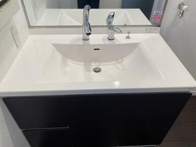 シャワー付きの洗面台です。