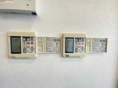 2階のLDKには床暖房があります。
