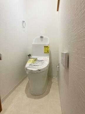 「2階トイレ」新品交換済み