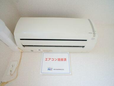 暑い日も、寒い日も快適にお過ごし頂けます♪ エアコン1基設置しています★