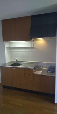 ガスコンロ設置可・収納スペース豊富なキッチン♪