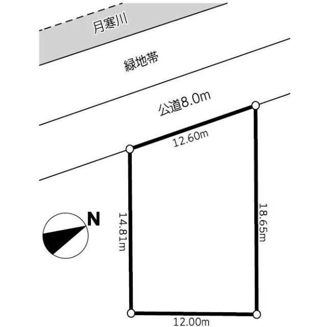 札幌市豊平区 福住一条9丁目 住宅用地の写真