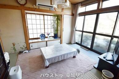 落ち着きのある和室は客間としても利用可能!急な来客にも対応してくれます♪