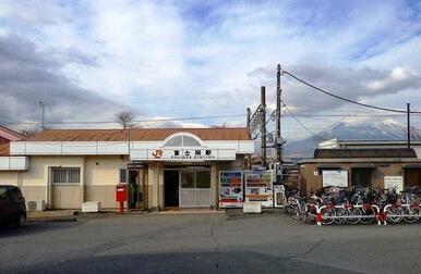 御殿場線富士岡駅