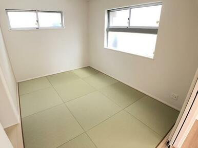 【1号棟洋和室】家事スペースとしてお使いいただけます!収納もあります!