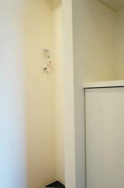 【設備】洗濯機置場を設置しております。