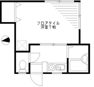 2階角部屋!