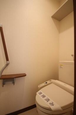 【トイレ】毎日使うものだからこそ、人に優しく、清潔な温水洗浄機能付トイレ。