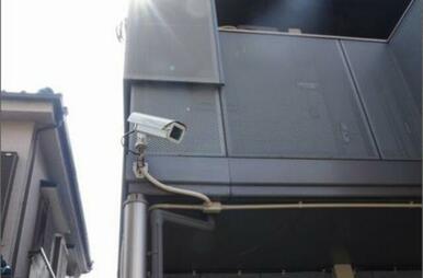 安心感アップの防犯カメラ設置物件です。2か所設置