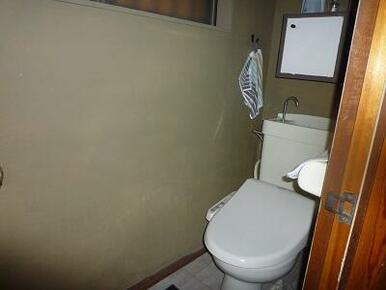 別棟(離れ)のトイレ