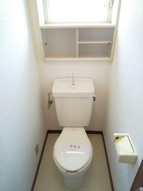 1階・2階と各階にトイレが御座います★
