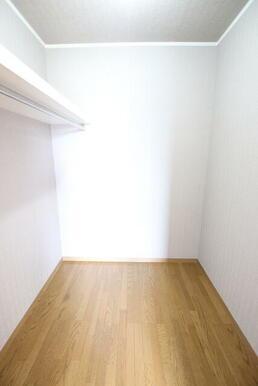 2階 6帖洋室には大容量のWIC