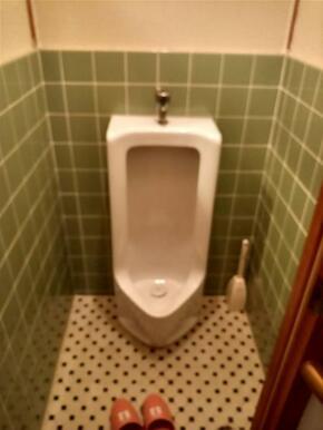 男性用トイレです。