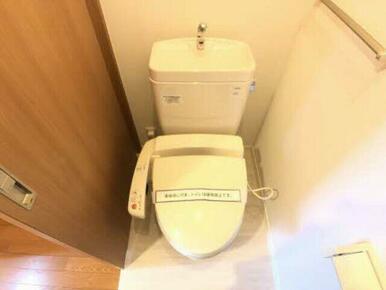 洗浄機能付き便座で、快適です♪