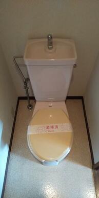 独立設計のトイレ