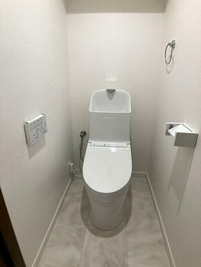 「トイレ」トイレ本体新品交換済みです。