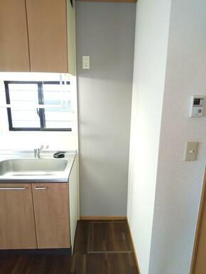 シンク横・冷蔵庫スペース