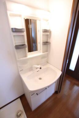 シャワー付き化粧洗面台