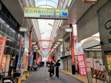 瓢箪山駅前商店街