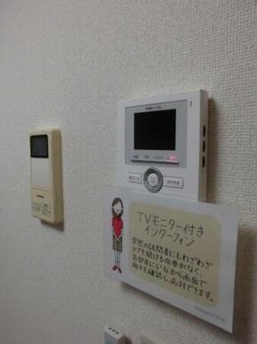 録画機能付テレビインターホン