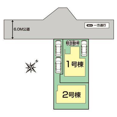 愛知郡東郷町御岳1丁目区画図