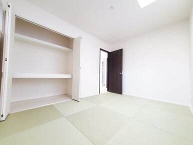 6号棟:和室 日焼けや色あせしにくく、美しさ長持ちの畳おもて。