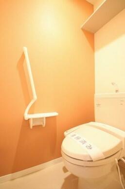 【トイレ】暖房機能付き洗浄便座