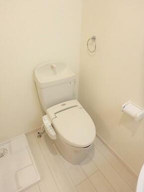 嬉しい洗浄機能付便座のトイレ