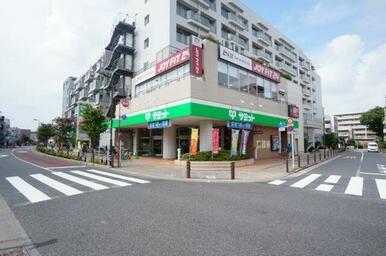 「芦花公園」駅前にはスーパーマーケット「サミット」がございます♪